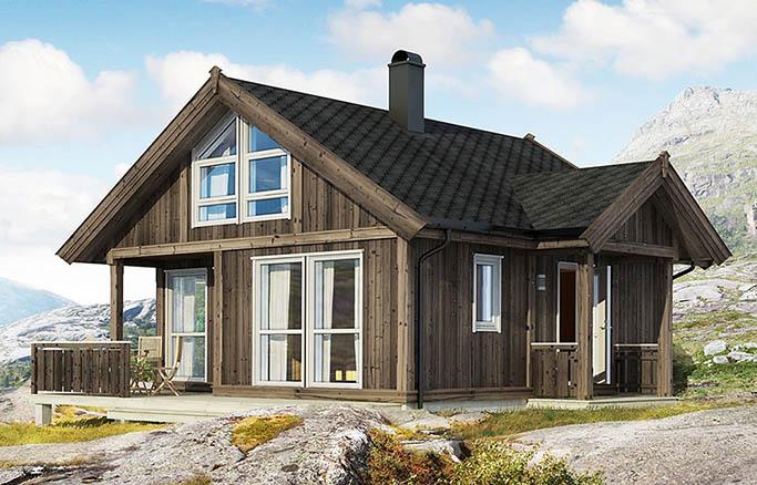Небольшие дома до 100 кв.м.